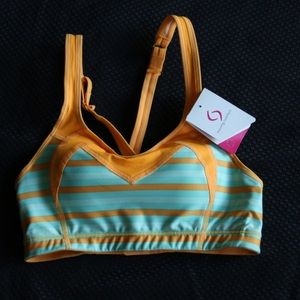 Moving Comfort Sports Bra New XS 32C
